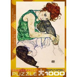 """Eurographics (6000-4539) - Egon Schiele: """"L'artiste"""" - 1000 pièces"""