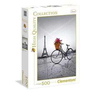 """Clementoni (35014) - """"Romantic Promenade in Paris"""" - 500 pièces"""