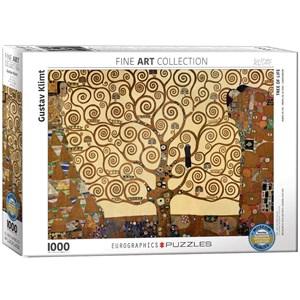 """Eurographics (6000-6059) - Gustav Klimt: """"l'arbre de vie"""" - 1000 pièces"""