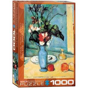 """Eurographics (6000-3802) - Paul Cezanne: """"Blue Vase"""" - 1000 pièces"""