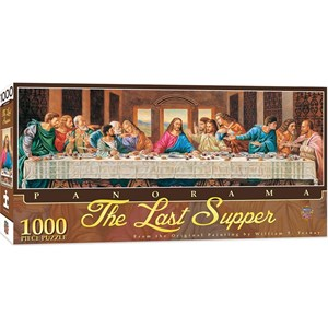 """MasterPieces (71372) - William Terney: """"The Last Supper"""" - 1000 pièces"""