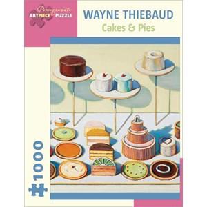 """Pomegranate (AA834) - Wayne Thiebaud: """"Cakes & Pies"""" - 1000 pièces"""