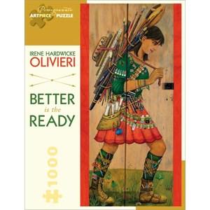 "Pomegranate (AA822) - Irene Hardwicke Olivieri: ""Better is The Ready"" - 1000 pièces"