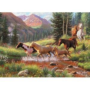 """Cobble Hill (51844) - Mark Keathley: """"Mountain Thunder"""" - 1000 pièces"""