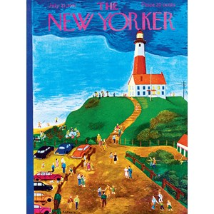 "New York Puzzle Co (NY023) - Ilonka Karasz: ""The Lighthouse"" - 500 pièces"
