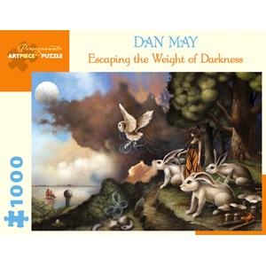 """Pomegranate (AA991) - Dan May: """"Escaping The Weight of Darkness"""" - 1000 pièces"""