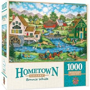 """MasterPieces (71732) - Bonnie White: """"Millside Picnic"""" - 1000 pièces"""