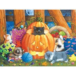 """SunsOut (12540) - Ashley Davis: """"Halloween Surprise"""" - 1000 pièces"""