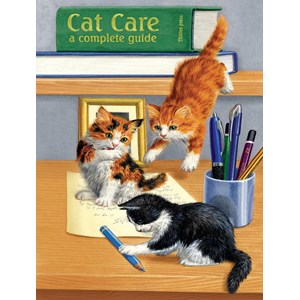 "SunsOut (51476) - Sarah Adams: ""Cat Care"" - 500 pièces"