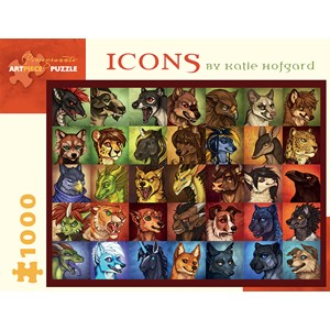 "Pomegranate (AA926) - Katie Hofgard: ""Icons"" - 1000 pièces"