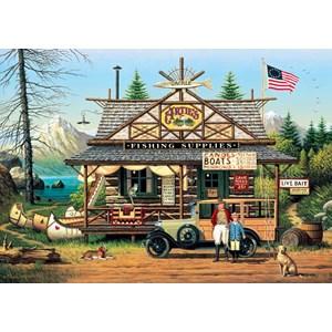 "Buffalo Games (2619) - Charles Wysocki: ""Proud Lil' Angler"" - 300 pièces"