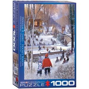 "Eurographics (6000-0688) - Douglas Laird: ""Hockey-Saison"" - 1000 pièces"