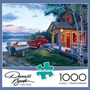 "Buffalo Games (11229) - Darrell Bush: ""Cabin Fever"" - 1000 pièces"