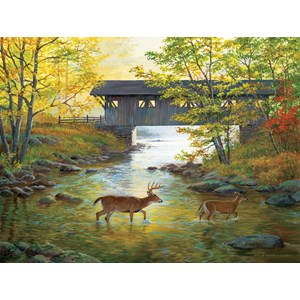 """SunsOut (51979) - Persis Clayton Weirs: """"Rock Creek Crossing"""" - 500 pièces"""