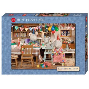 "Heye (29705) - Karina Schaapman: ""Mouse Mansion, Celebration"" - 500 pièces"