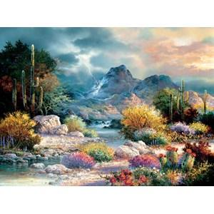 """SunsOut (18085) - James Lee: """"Springtime Valley"""" - 1000 pièces"""