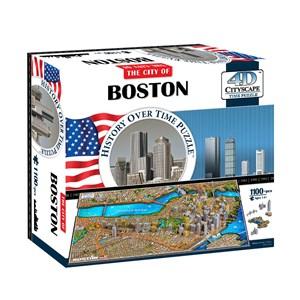 "4D Cityscape (40080) - ""Boston, USA"" - 1100 pièces"