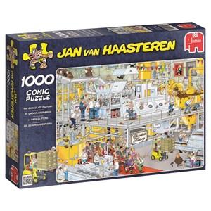 """Jumbo (17452) - Jan van Haasteren: """"La Chocolaterie"""" - 1000 pièces"""