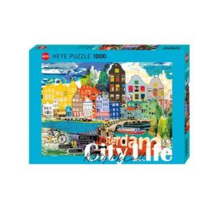 """Heye (29683) - Kitty McCall: """"I Love Amsterdam!"""" - 1000 pièces"""