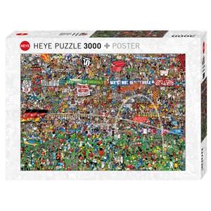 "Heye (29205) - Alex Bennett: ""Football History + Poster"" - 3000 pièces"