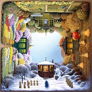 "Anatolian (PER1012) - Jacek Yerka: ""Four Seasons Garden"" - 1000 pièces"