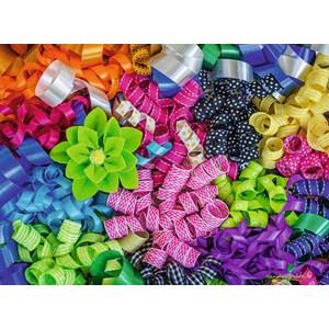 "Ravensburger (14691) - Carole Gordon: ""Colorful Ribbons"" - 500 pièces"