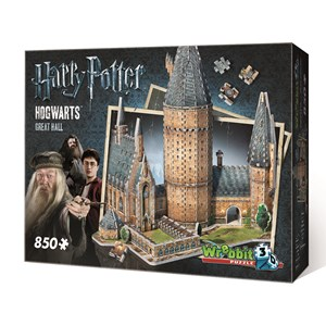 "Wrebbit (W3D-2014) - ""Hogwarts Great Hall"" - 850 pièces"
