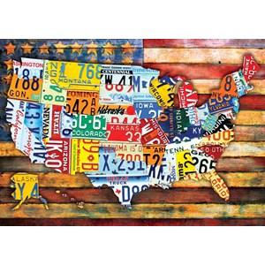 """Buffalo Games (2483) - """"Road Trip U.S.A."""" - 300 pièces"""