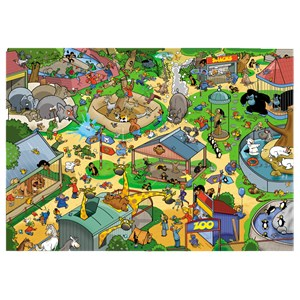 """Goliath Games (71308) - """"The Zoo"""" - 1000 pièces"""