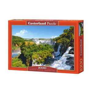 """Castorland (C-101917) - """"Les chutes d'Iguazu, Argentine"""" - 1000 pièces"""