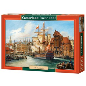 """Castorland (C-102914) - """"Vieux Gdansk"""" - 1000 pièces"""