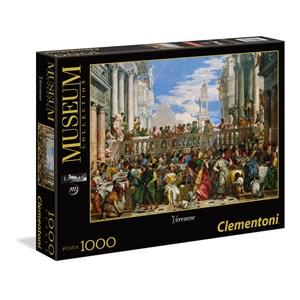 """Clementoni (39391) - Paul Véronèse: """"Les Noces de Cana"""" - 1000 pièces"""