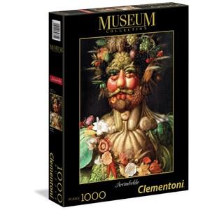 "Clementoni (39331) - Giuseppe Arcimboldo: ""Arcimboldo: Vertumnus"" - 1000 pièces"