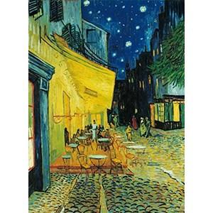 """Clementoni (31470) - Vincent van Gogh: """"Le café, le soir"""" - 1000 pièces"""