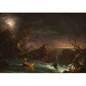 """Grafika (00244) - Thomas Cole: """"Le voyage de la Vie, L'Age Adulte, 1842"""" - 1000 pièces"""