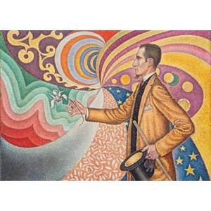"""Grafika (00297) - Paul Signac: """"Portrait de Félix Fénéon, 1890"""" - 24 pièces"""