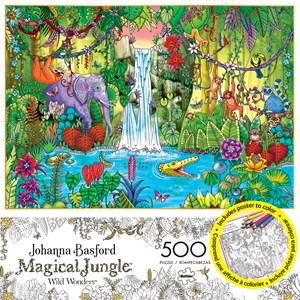 "Buffalo Games (3847) - Johanna Basford: ""Magical Jungle"" - 500 pièces"