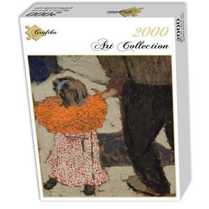 "Grafika (01809) - Edouard Vuillard: ""Enfant portant un foulard rouge, 1891"" - 2000 pièces"