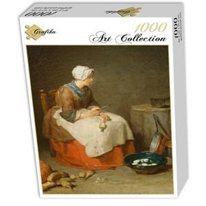 "Grafika (01122) - Jean-Baptiste-Siméon Chardin: ""La Fille de Cuisine, 1738"" - 1000 pièces"