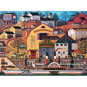 "Buffalo Games (11442) - Charles Wysocki: ""The Bostonian"" - 1000 pièces"