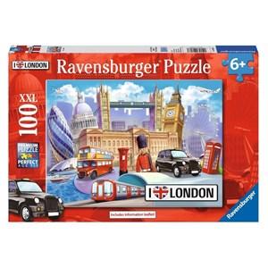 """Ravensburger (10607) - """"London"""" - 100 pièces"""