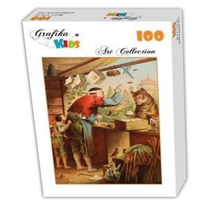 """Grafika Kids (00127) - Carl Offterdinger: """"Le Loup et les sept Chevreaux"""" - 100 pièces"""