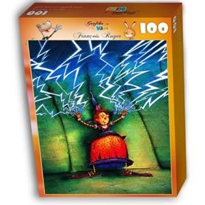 """Grafika Kids (01451) - François Ruyer: """"Sorcière"""" - 100 pièces"""