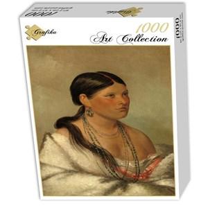 "Grafika (02233) - George Catlin: ""Femme Aigle, Shawano, 1830"" - 1000 pièces"