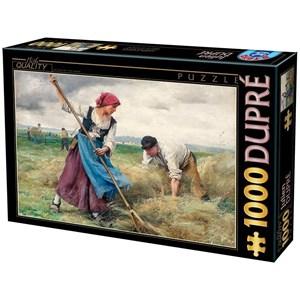 """D-Toys (72788-1) - Julien Dupre: """"La Recolte des Foins"""" - 1000 pièces"""