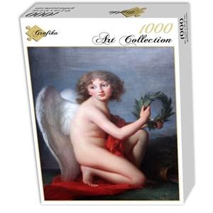 """Grafika (02216) - Élisabeth Vigée Le Brun: """"Portrait du Prince Heinrich Lubomirski génie de la renommée, 1789"""" - 1000 pièces"""