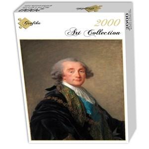 """Grafika (02174) - Élisabeth Vigée Le Brun: """"Alexandre Charles Emmanuel de Crussol-Florensac, 1787"""" - 2000 pièces"""