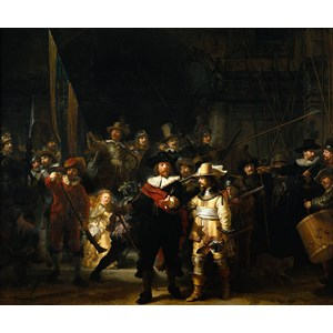 "PuzzelMan (472) - Rembrandt: ""The Night Watch"" - 210 pièces"