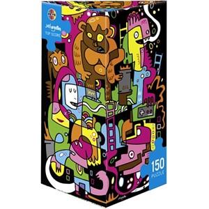 """Heye (29483) - Jon Burgerman: """"Meilleur score"""" - 150 pièces"""
